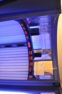 Lettino Solare ERGOLINE Avantgarde 600 Turbo Power